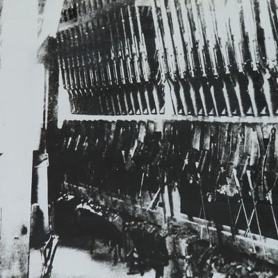 <p>銃器庫を東方に移転拡張。 三八銃が格納され敗戦とともに姿を消した。</p>