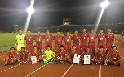高校サッカー部 インターハイ京都府予選6年振り2回目の優勝!