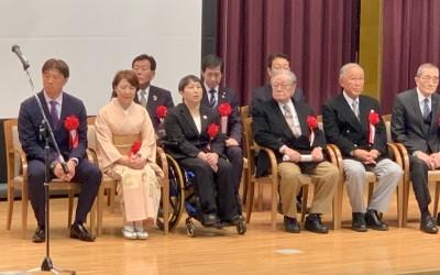 令和元年度 京都スポーツの殿堂に岡島氏と今井先生が表彰されました!